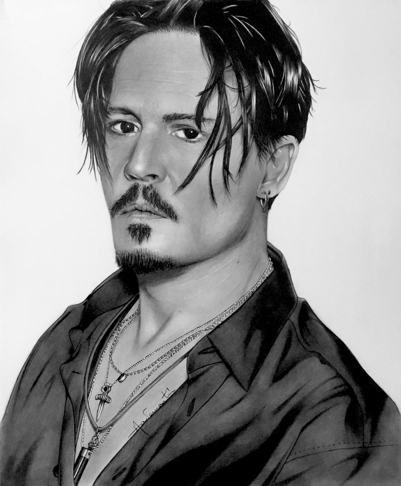 Johnny Depp by Aademantis